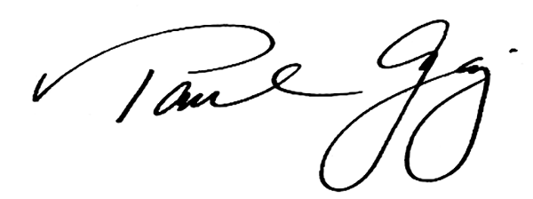 Paul Gaj's Signature