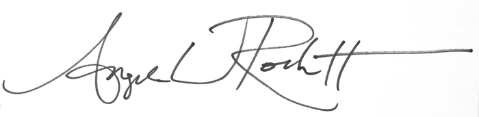 Angela Rockett's Signature