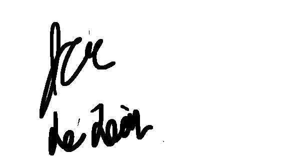 Jeremias de Leon's Signature