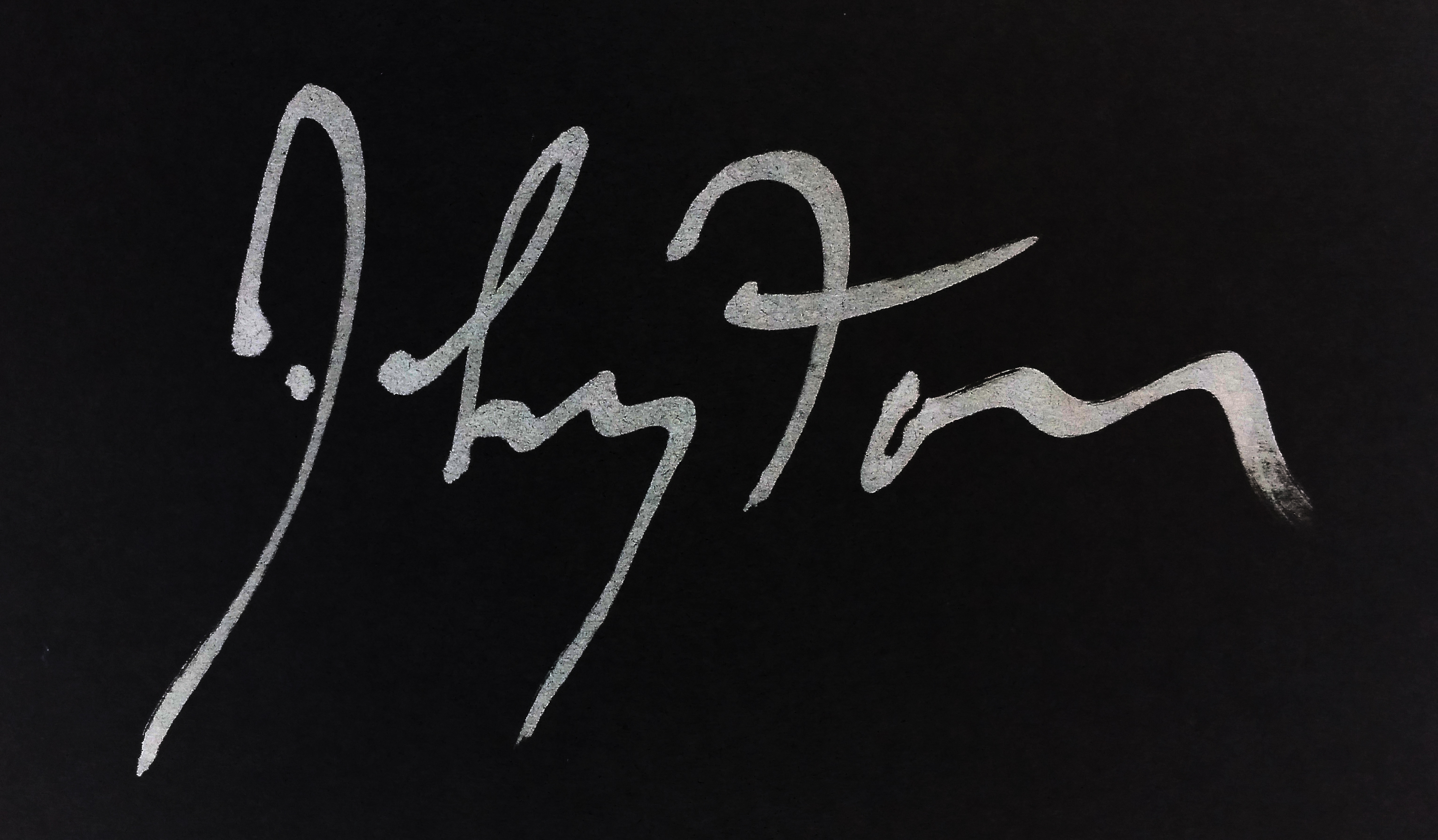 Kenneth Johnston's Signature