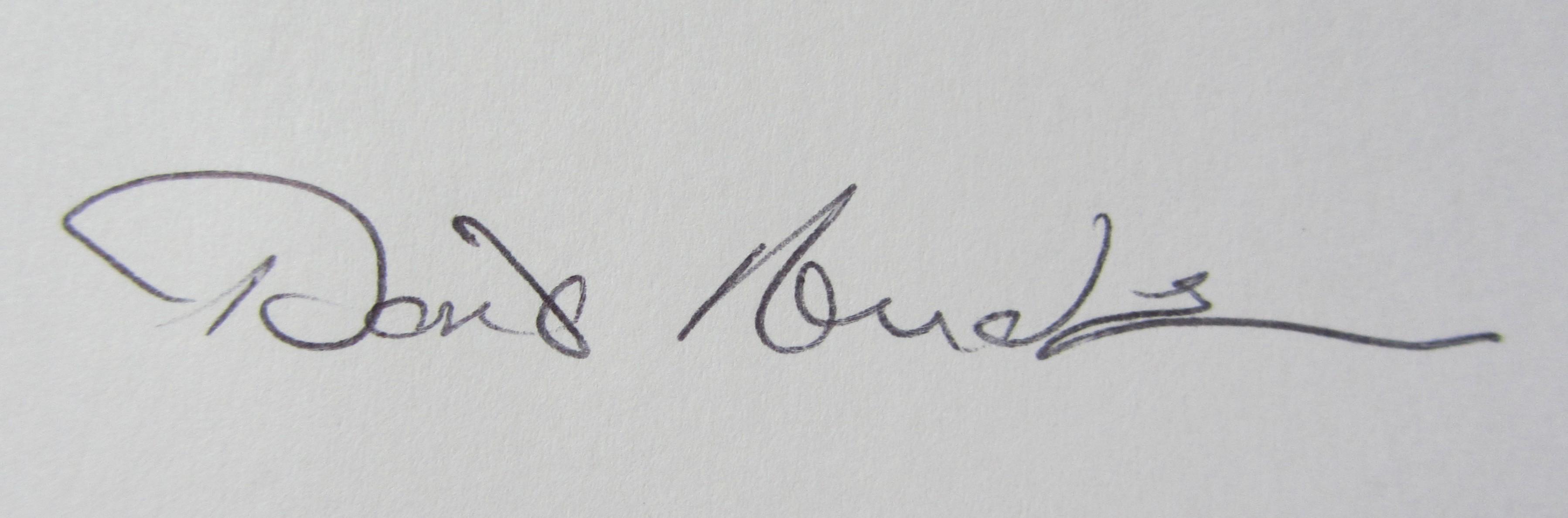 Doris Anderson's Signature