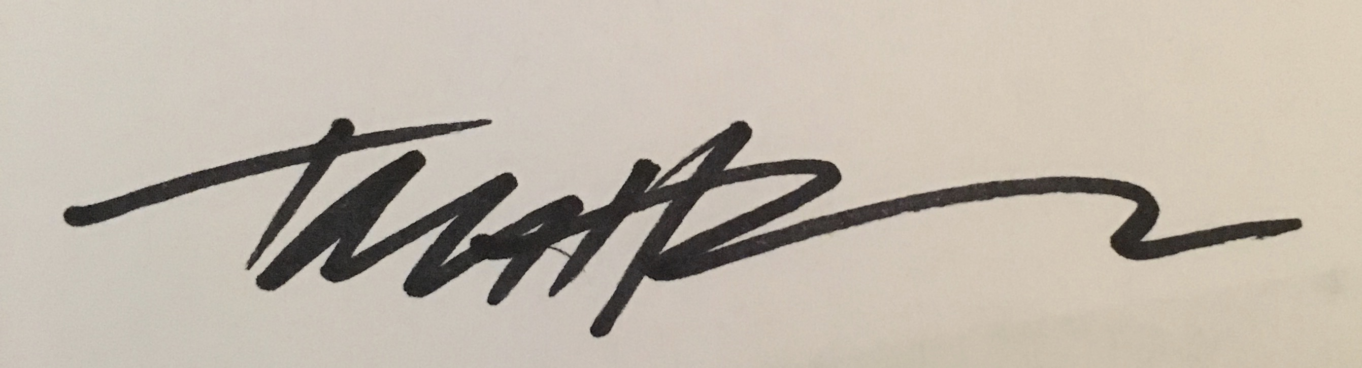 Tom Hoffman's Signature