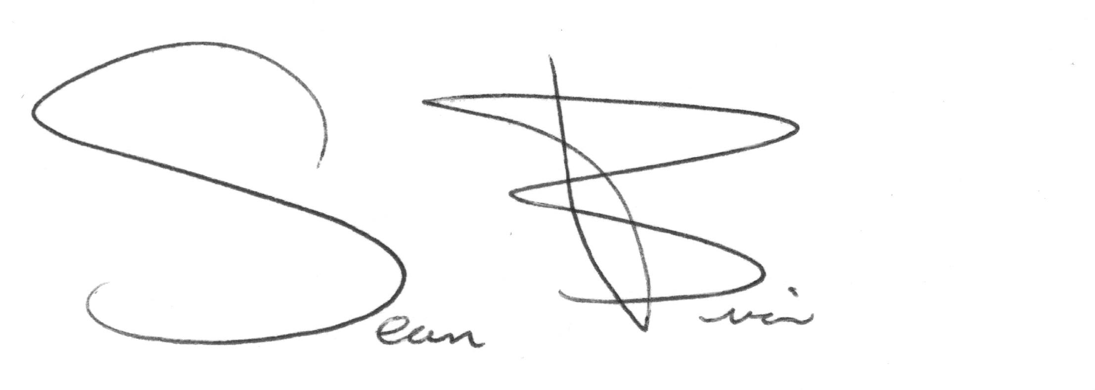Sean brian's Signature