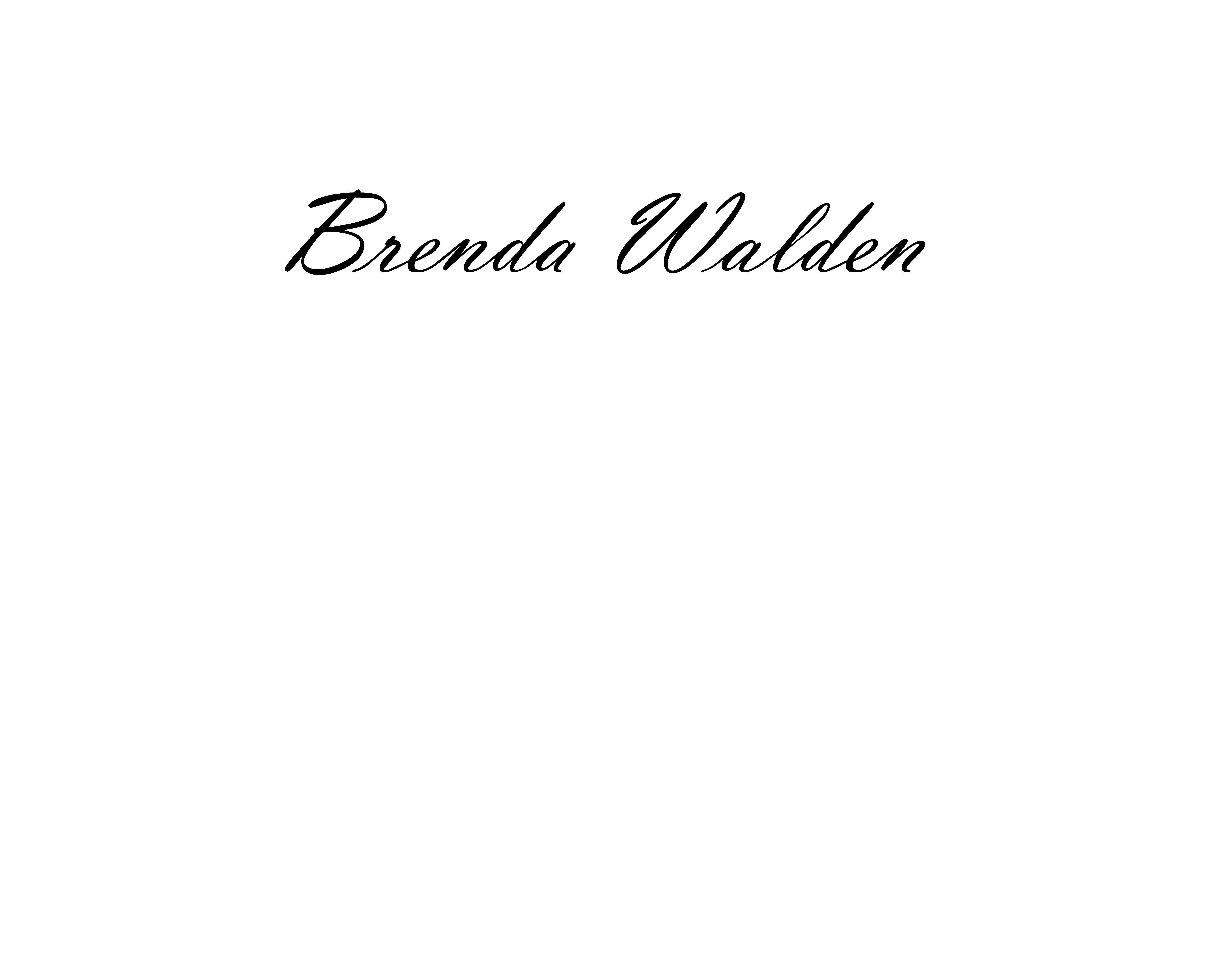 Brenda Walden's Signature