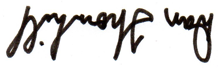 Dan Thornhill's Signature