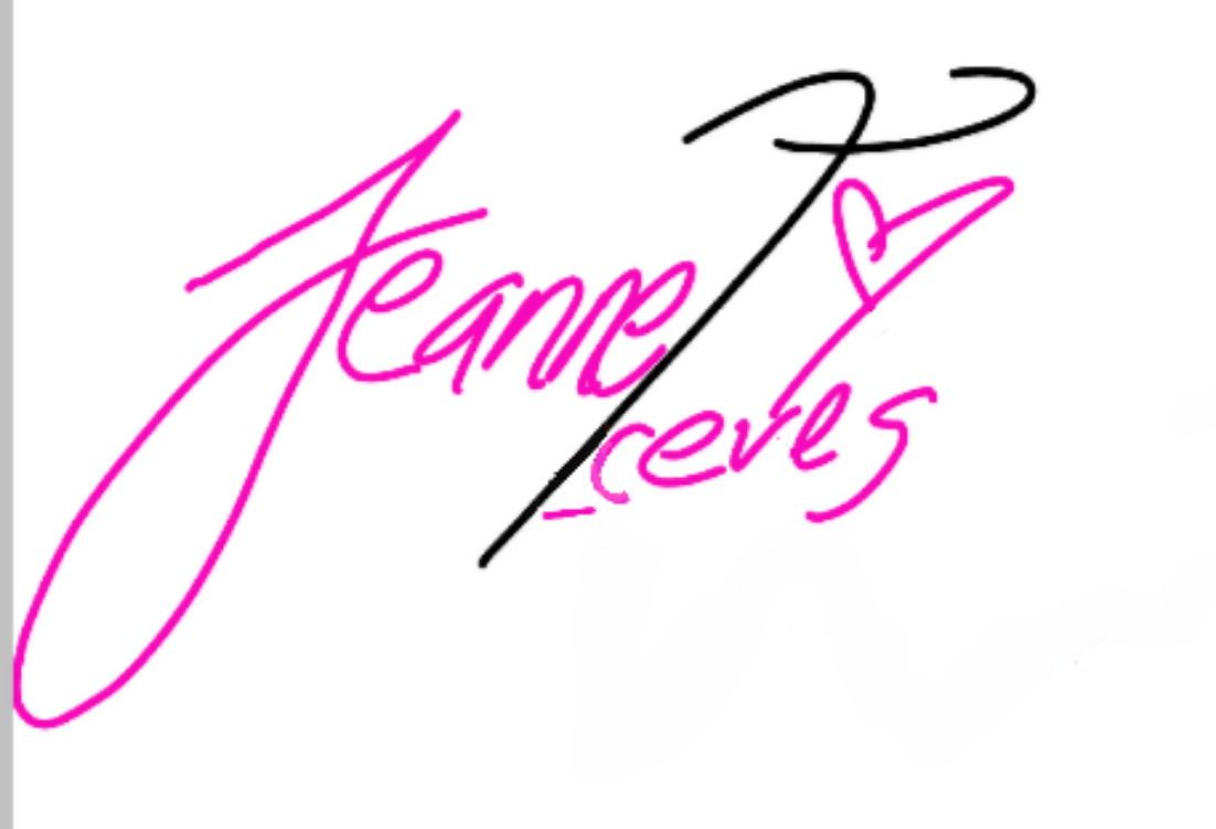 Jeannet Aceves's Signature