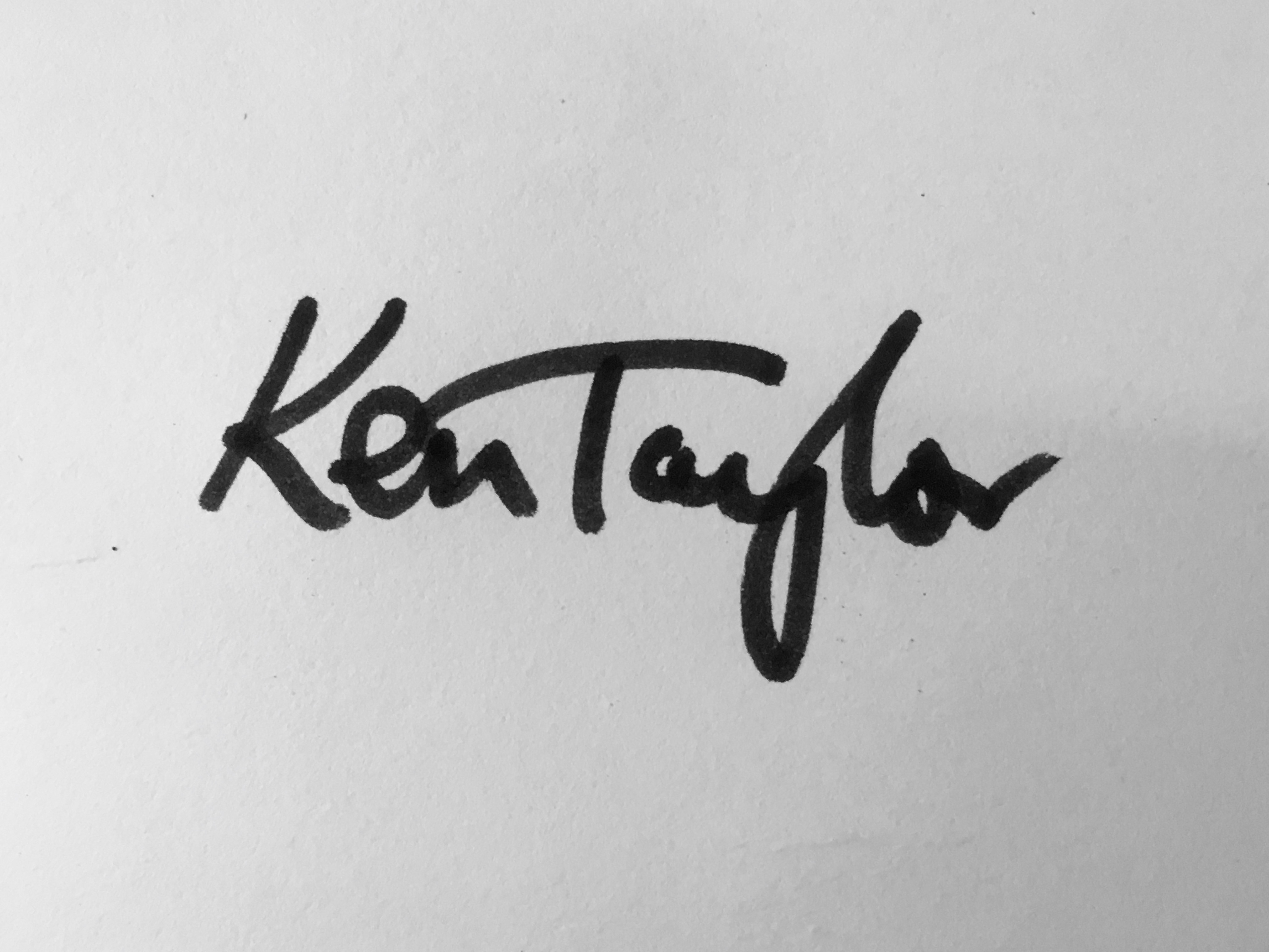 Ken Taylor's Signature