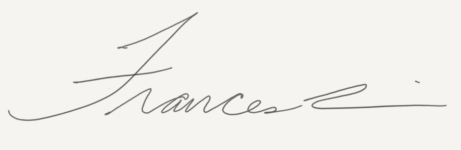 Frances  Lin's Signature
