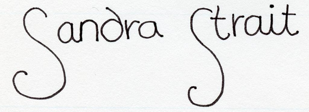 Sandra Strait's Signature