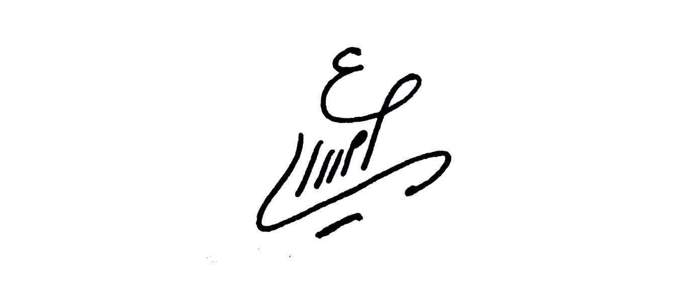 Efat  Amiri's Signature