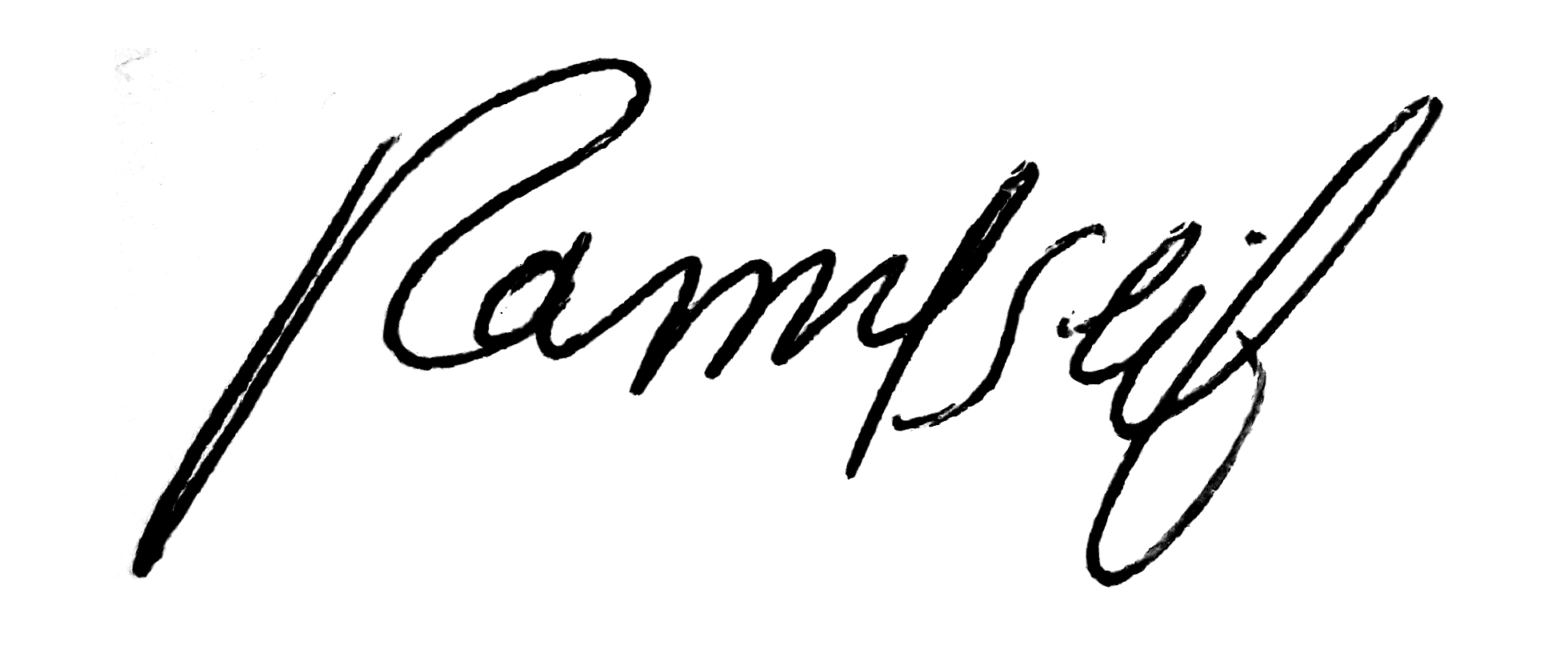 Ramy Mohammed's Signature