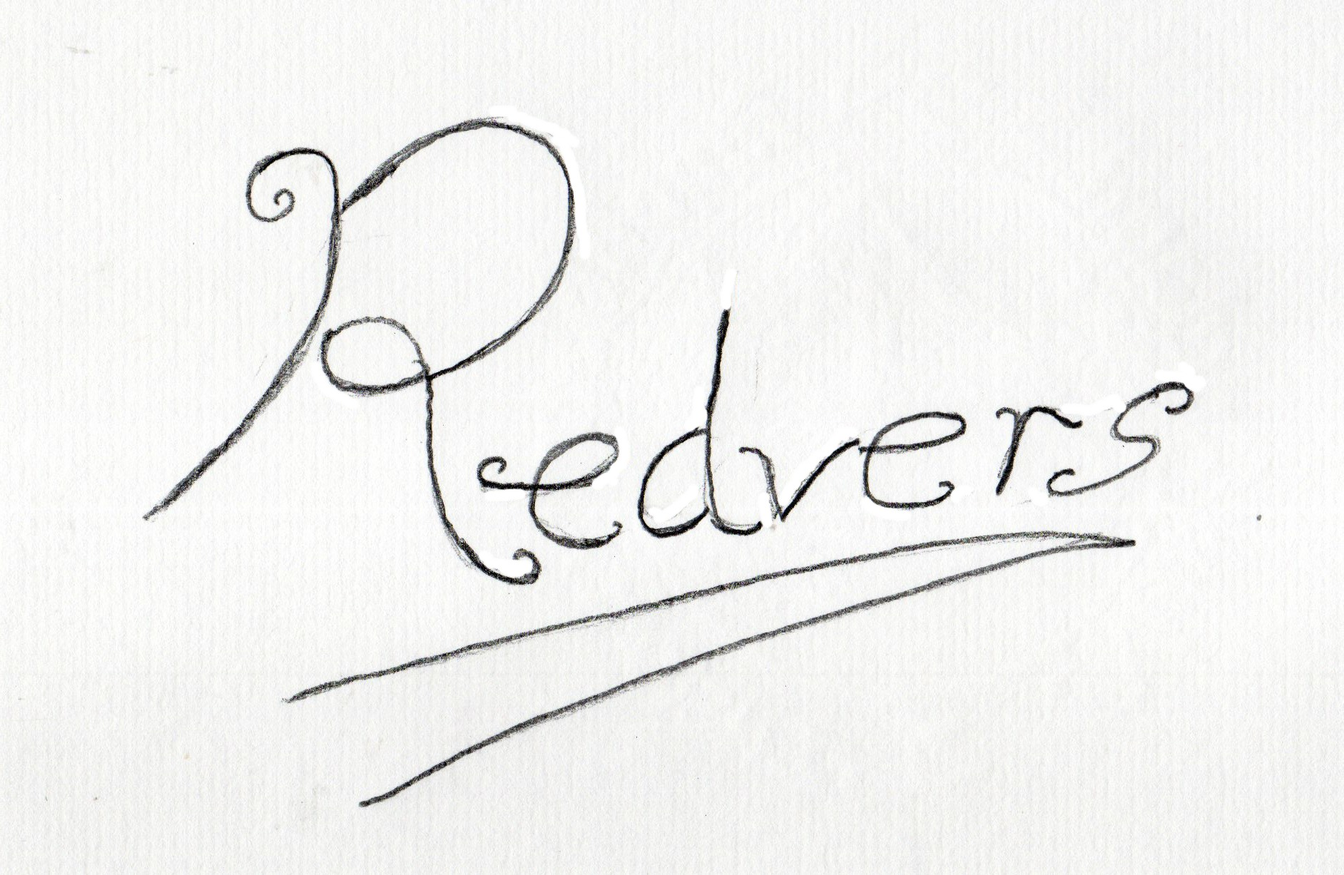 Redvers Jenkins's Signature
