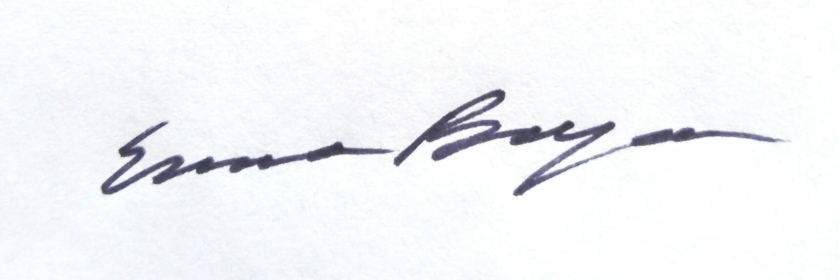 Emma Beyea's Signature