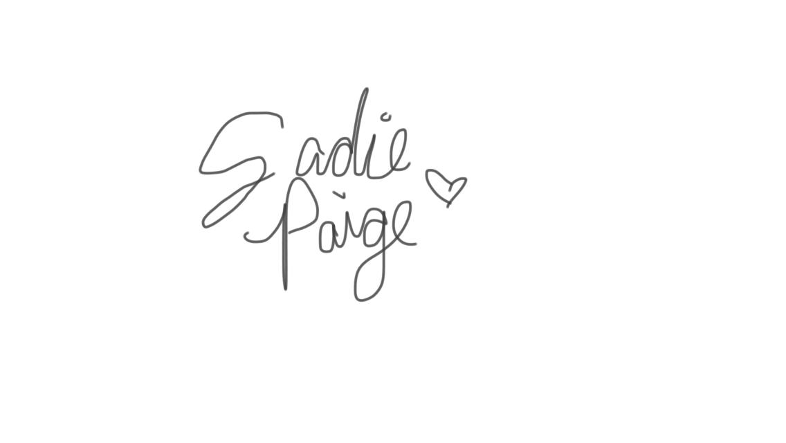 Sadie Paige's Signature