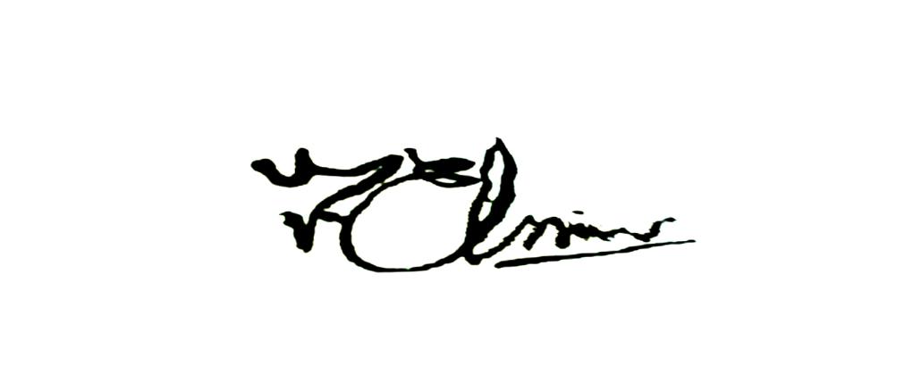 Joseph Elkins's Signature