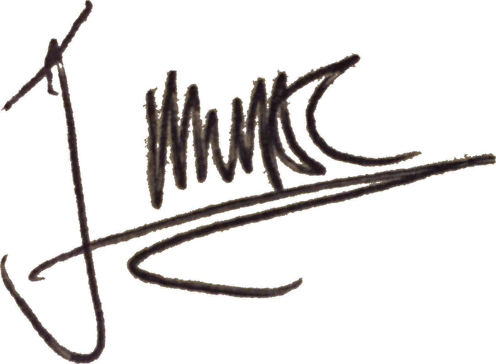 Jaie Miller's Signature