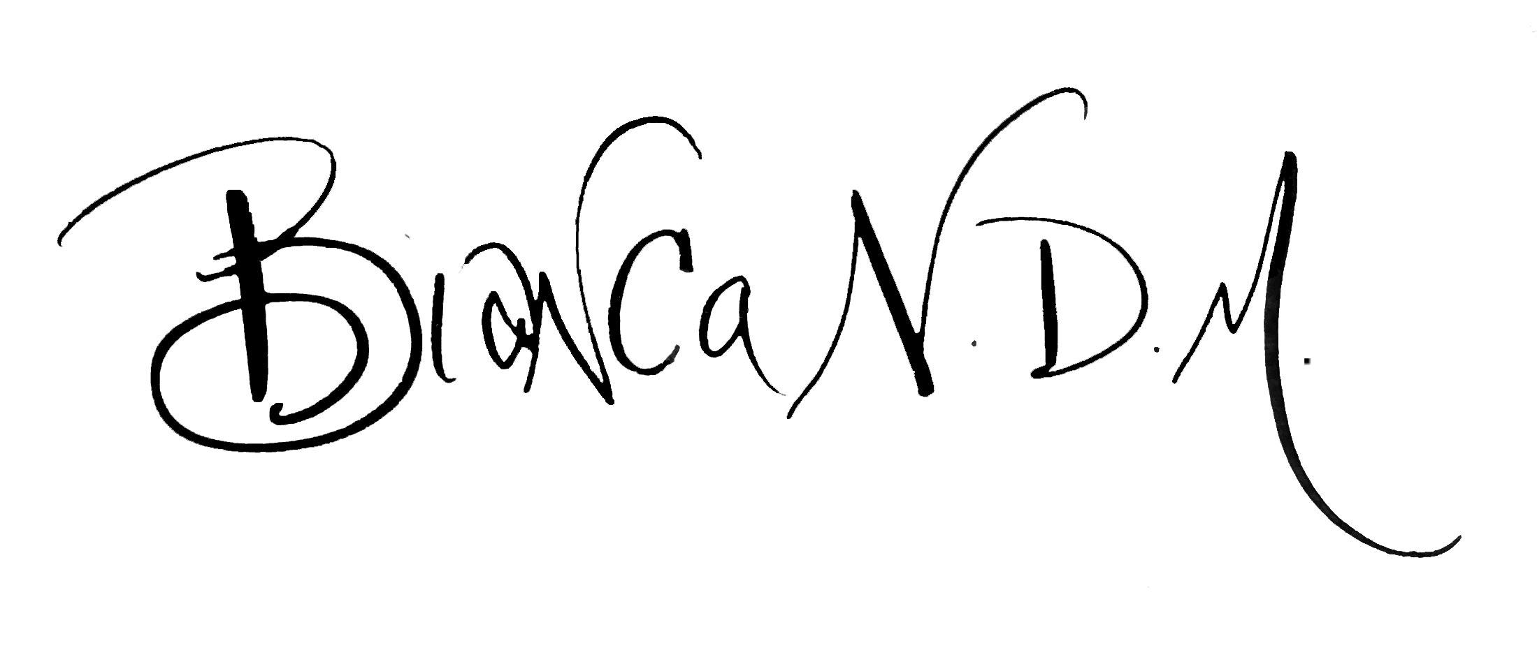 Bianca Mandity's Signature