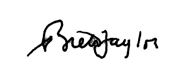 Brett Taylor's Signature