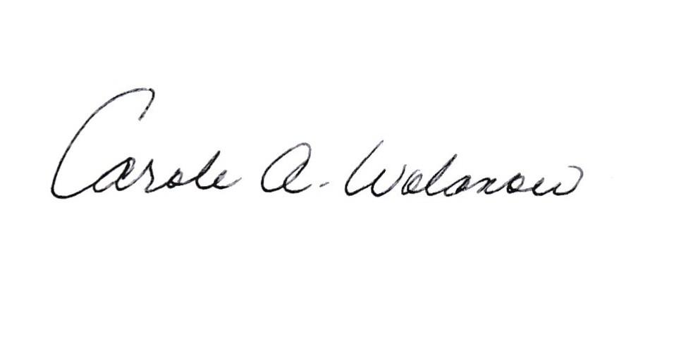 Carole Wolanow's Signature
