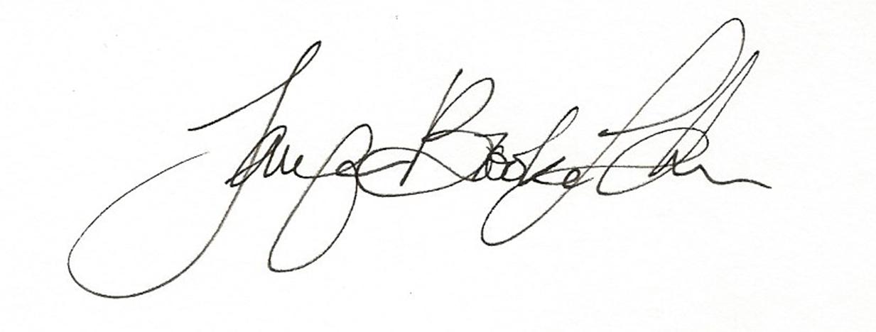 Jennifer Brooke Lehner's Signature