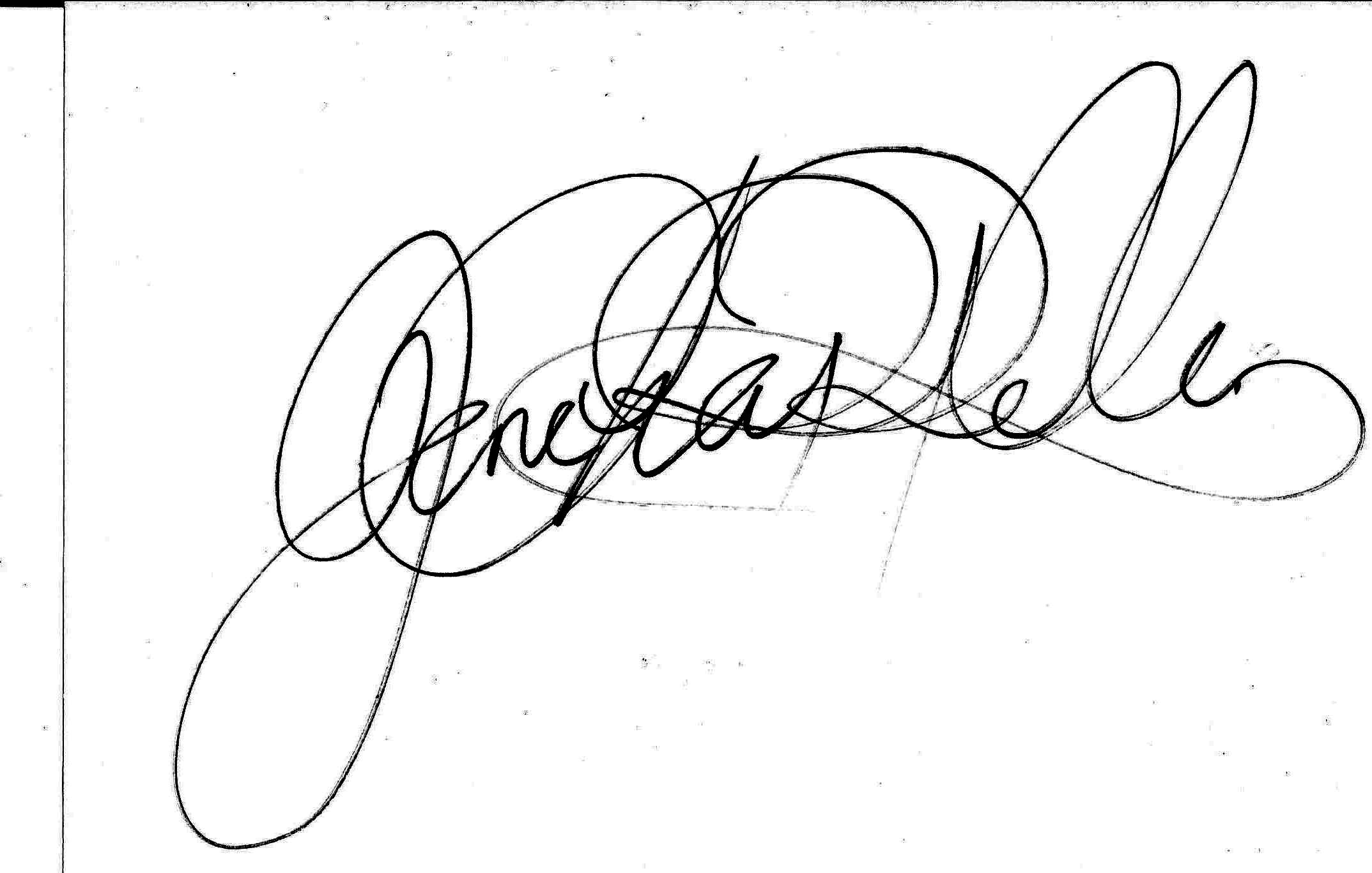 jane chappelle's Signature