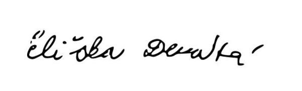 Eliska Devata's Signature