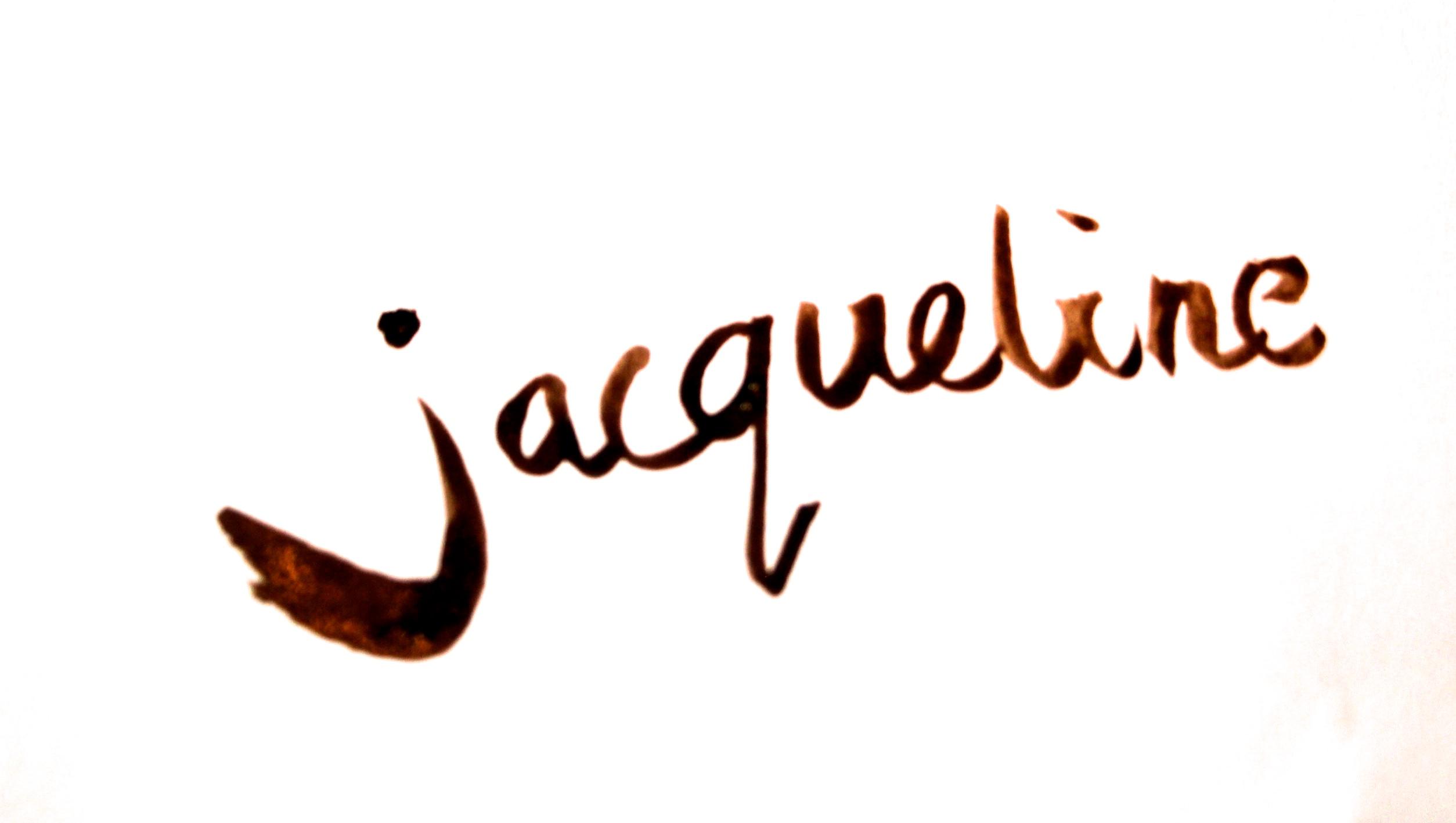 Jacqueline v/D Plaat's Signature