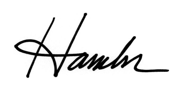 Kim Hambor's Signature