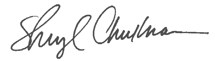 Sheryl Checkman's Signature