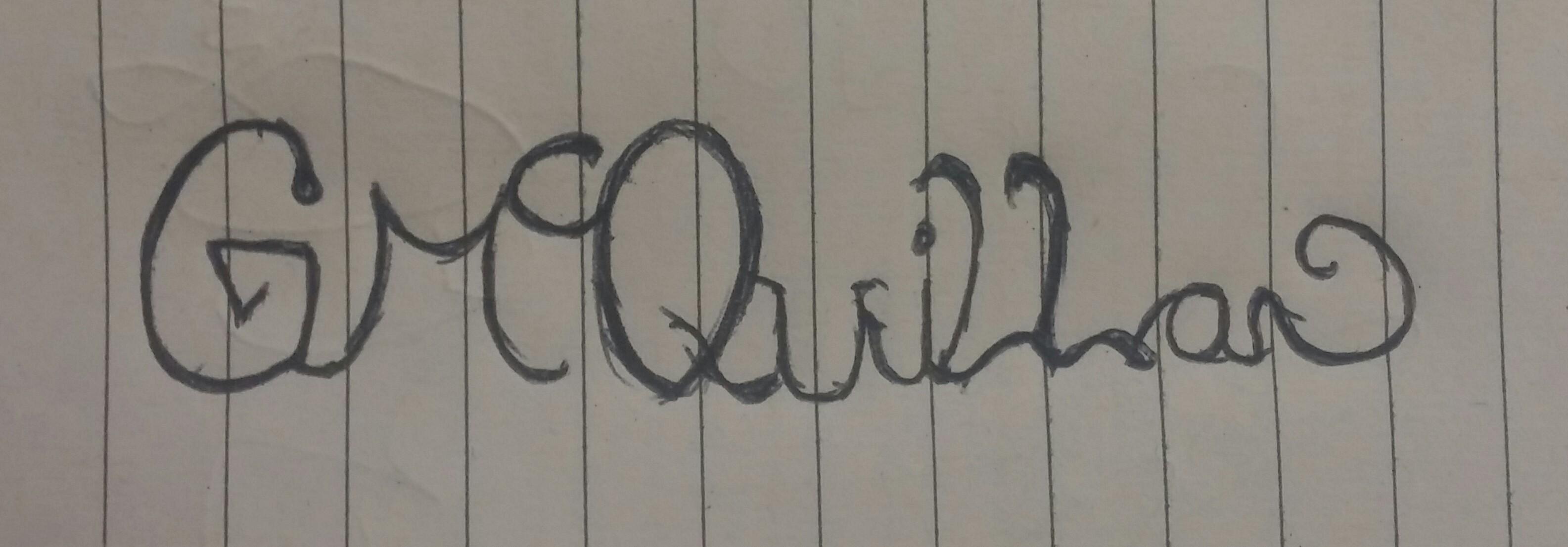 gary mcquillan's Signature