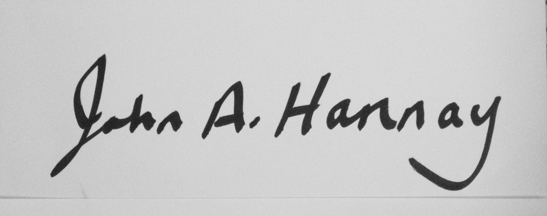 John Hannay's Signature