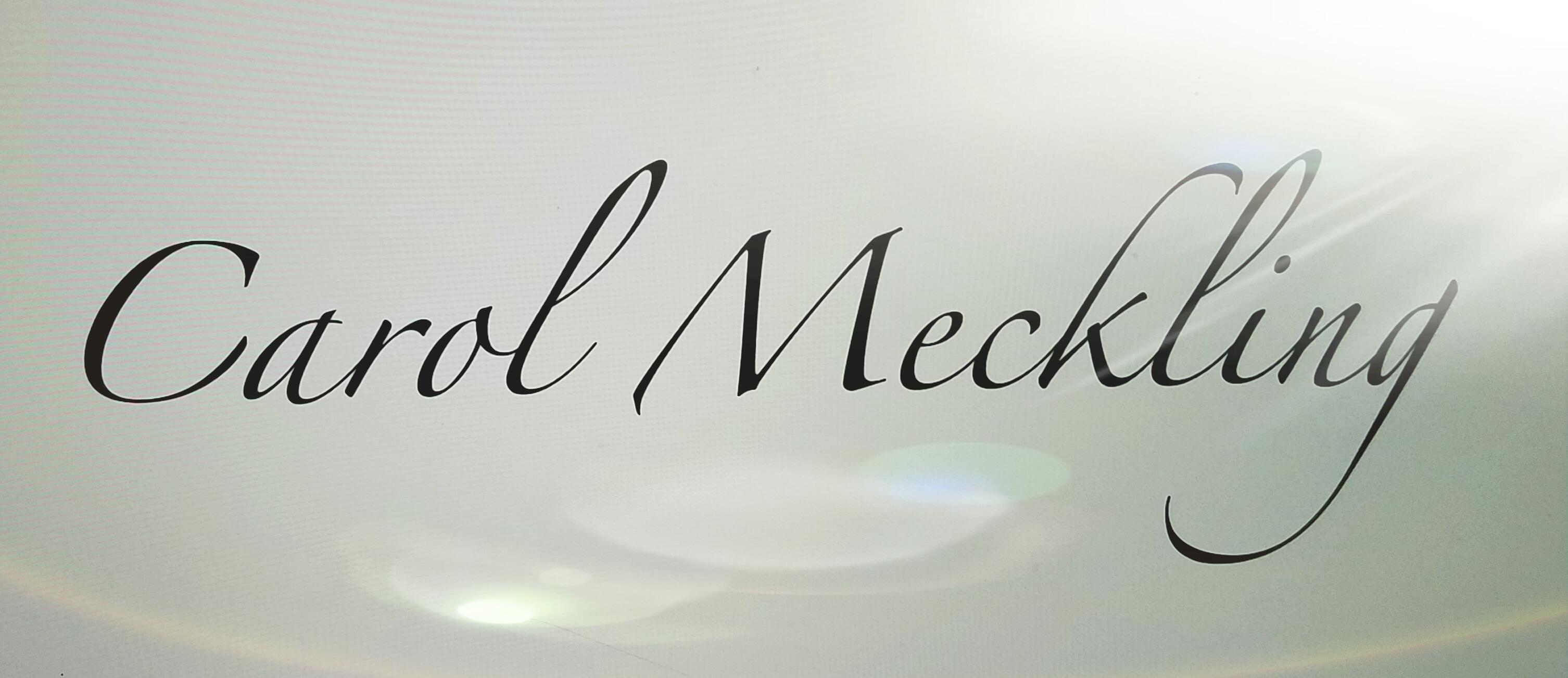 Carol Meckling's Signature