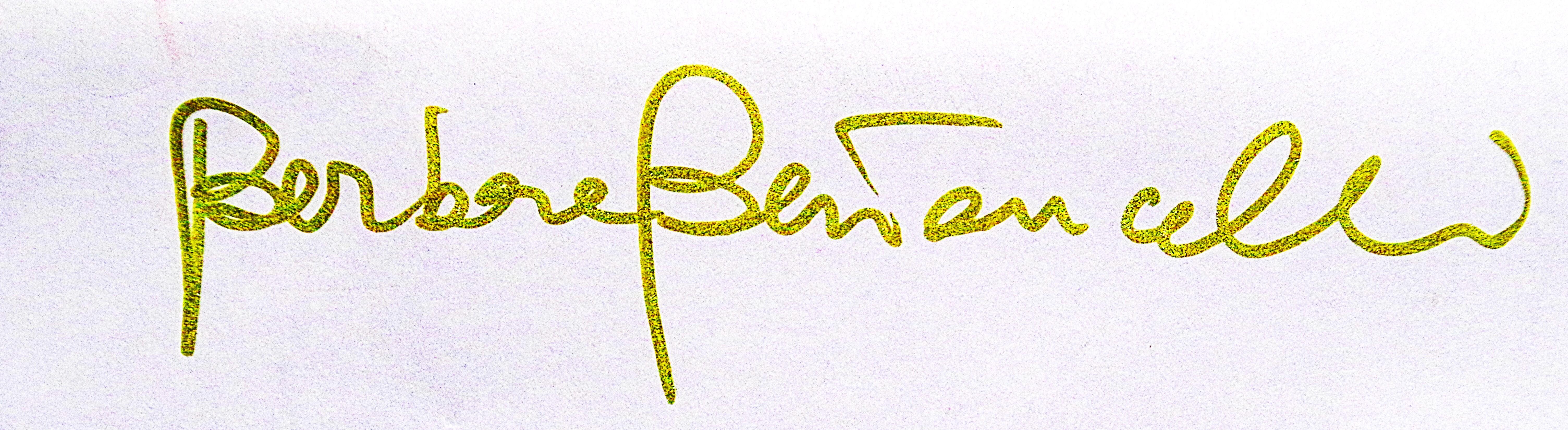barbara bertoncelli's Signature