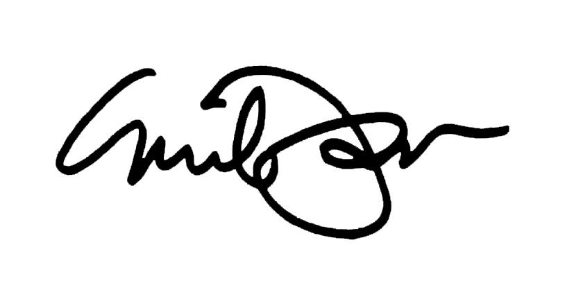 Emil Yanos's Signature