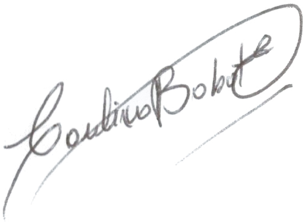 Carolina Babot's Signature