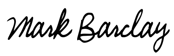 Mark Barclay's Signature