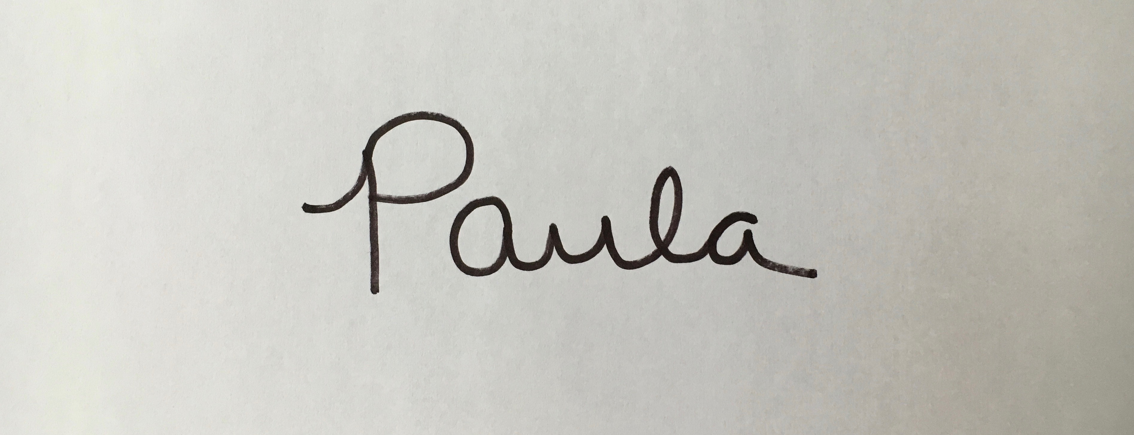 Paula Williams's Signature