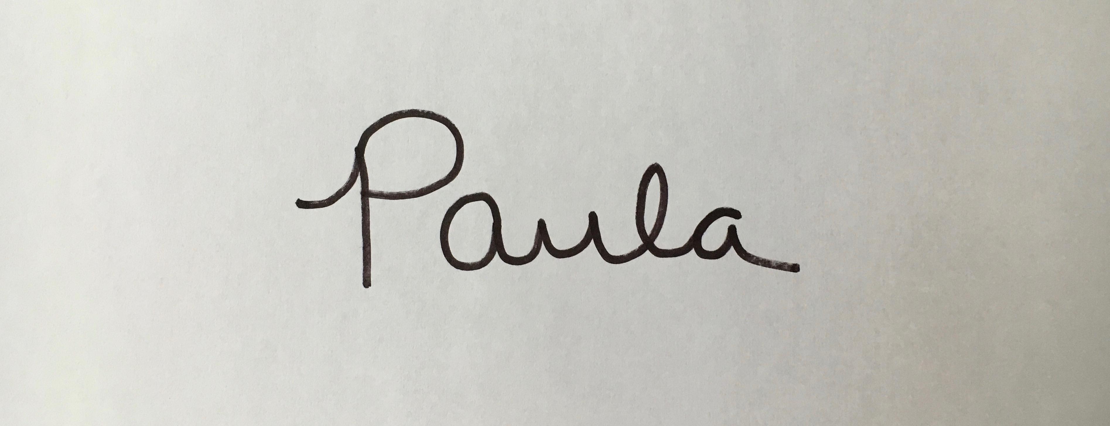 Paula Williams's Signature