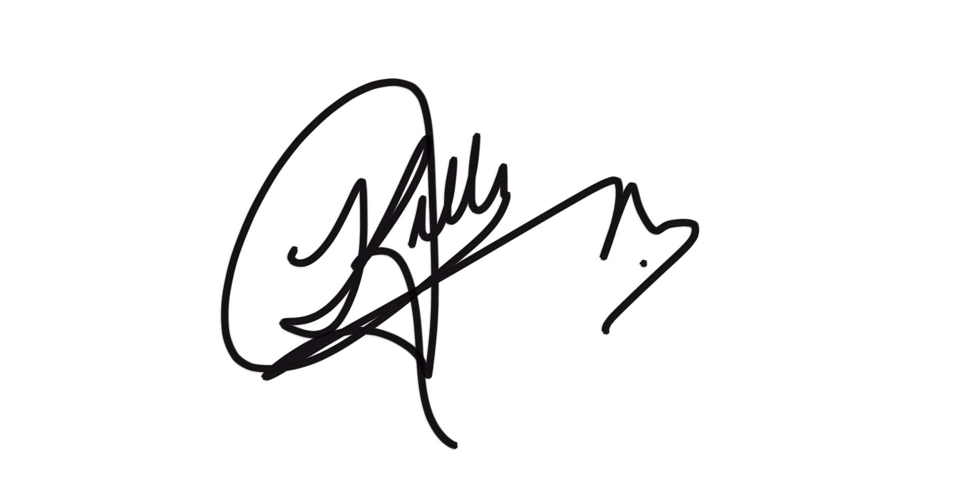 kelly u johnson's Signature