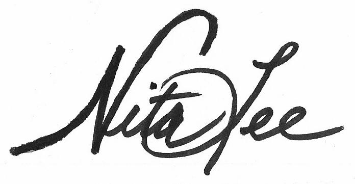 nita lee's Signature
