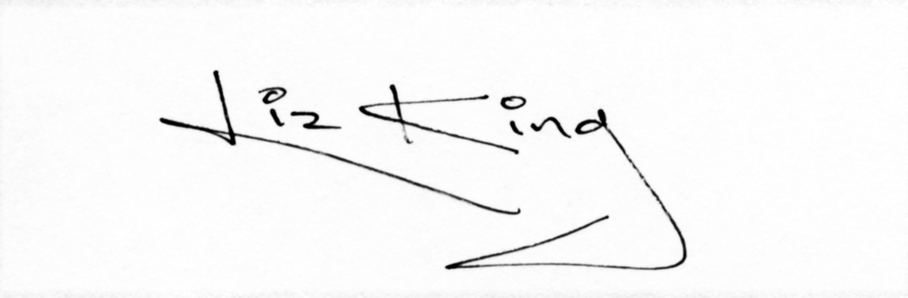 Liz King's Signature