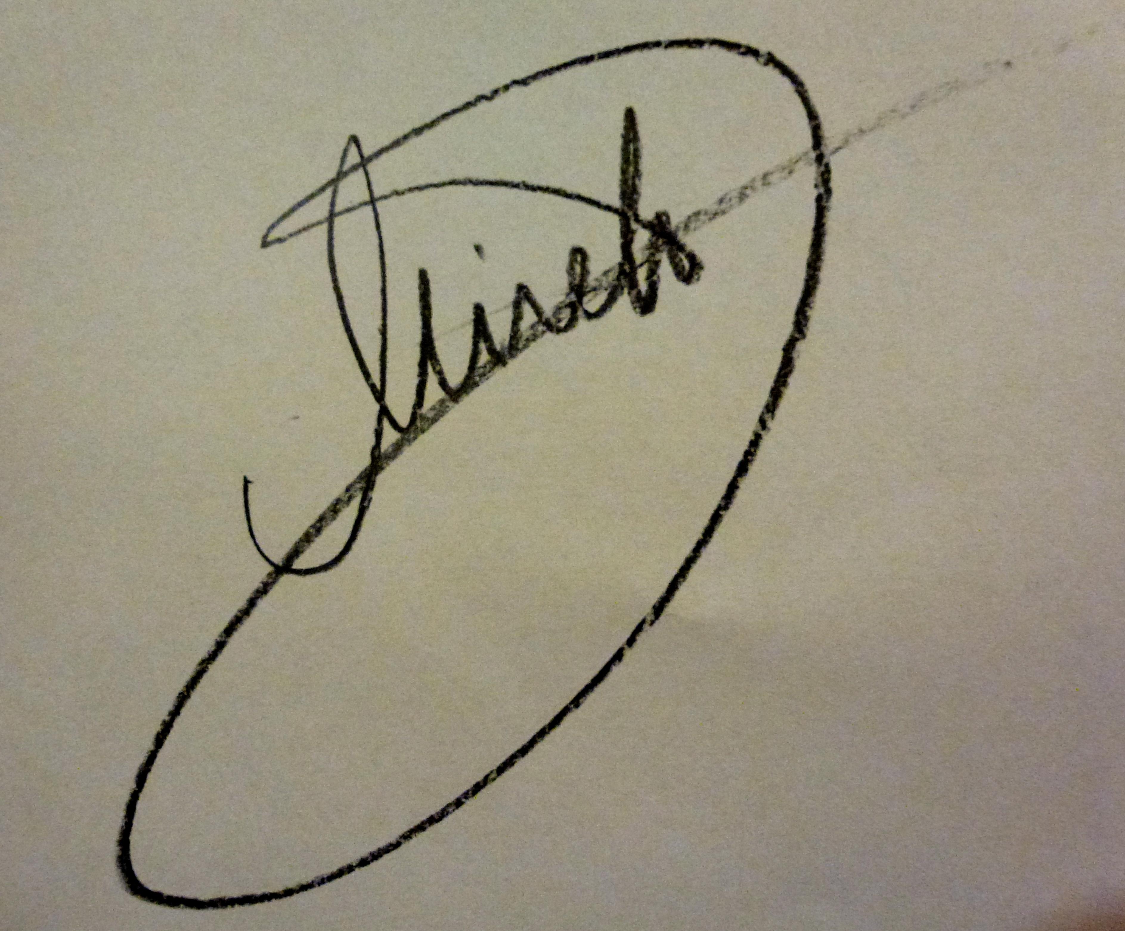 Mirela Ivanciu's Signature