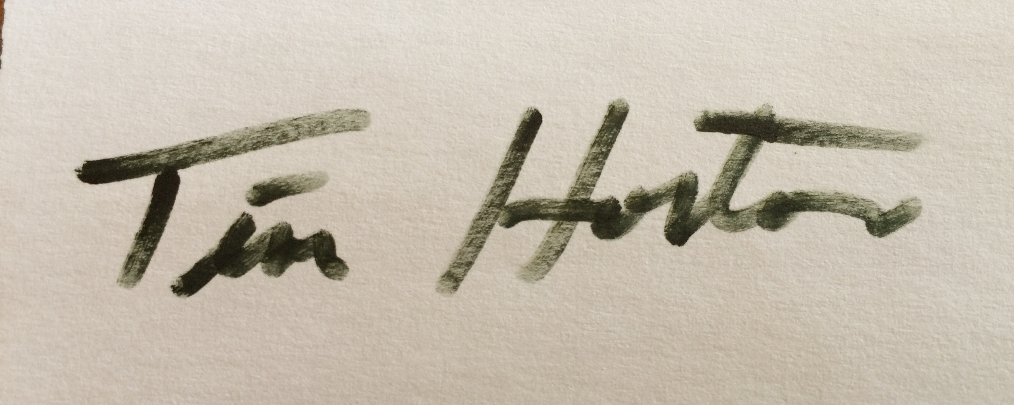 Tim Horton's Signature
