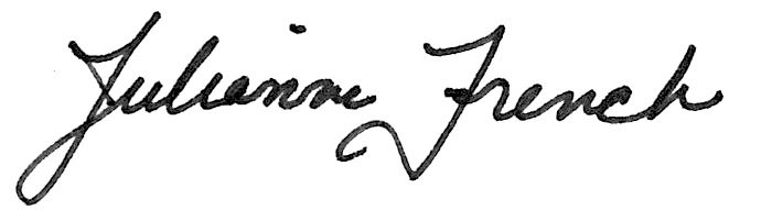 Julianne French's Signature