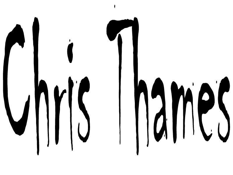 Chris Thames's Signature
