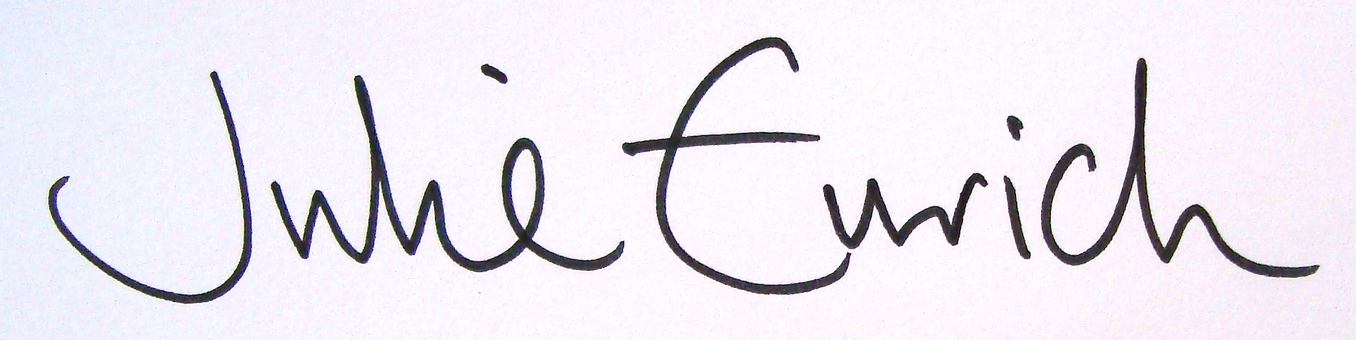 Julie  Eurich's Signature