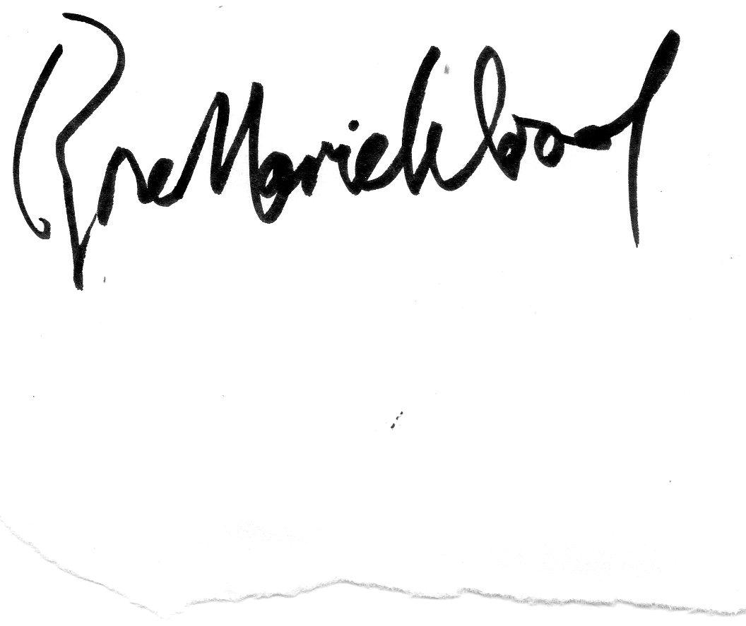 Rose Wood's Signature
