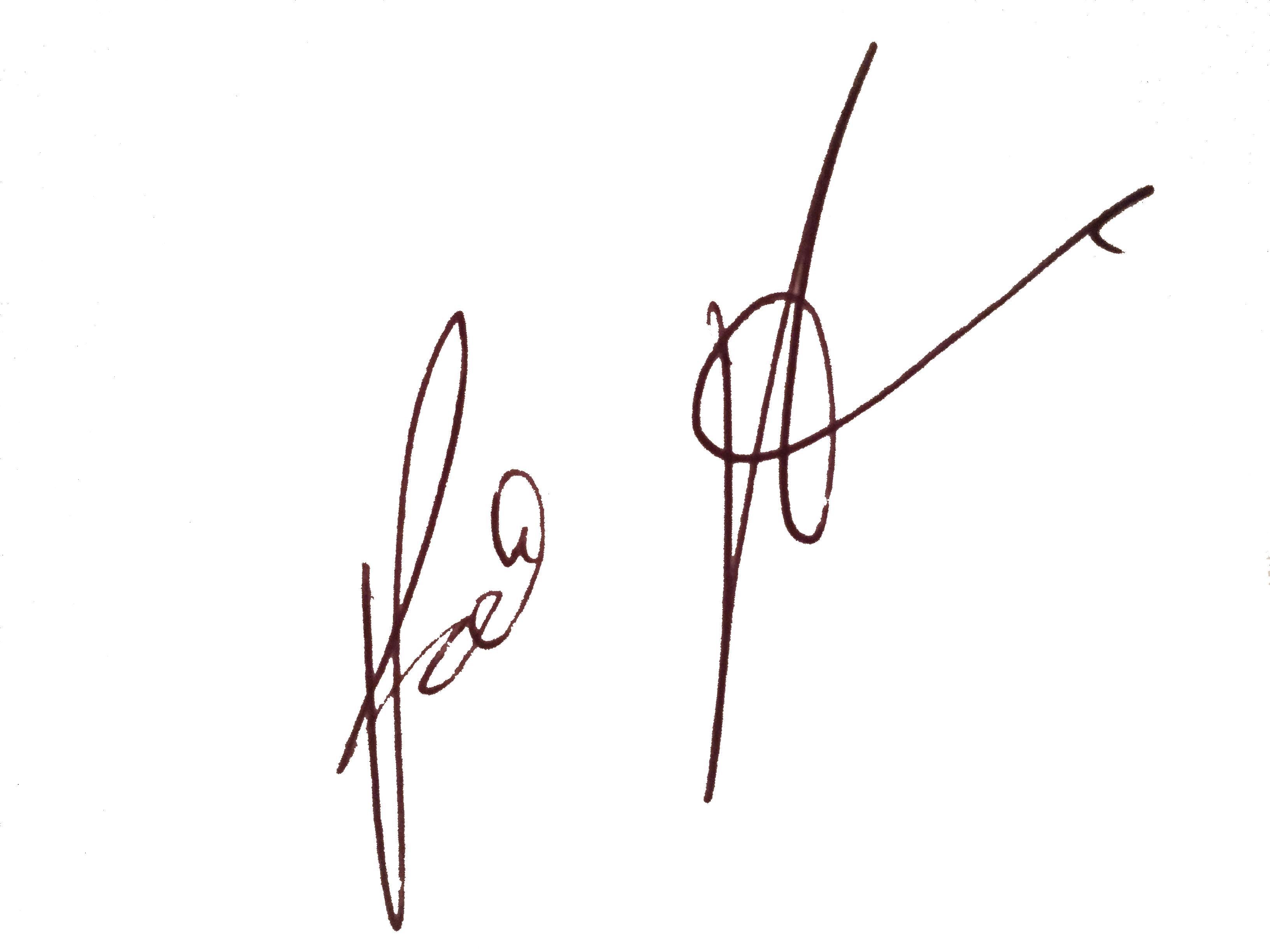Patrick Pagano's Signature