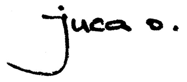 juca oliveira's Signature