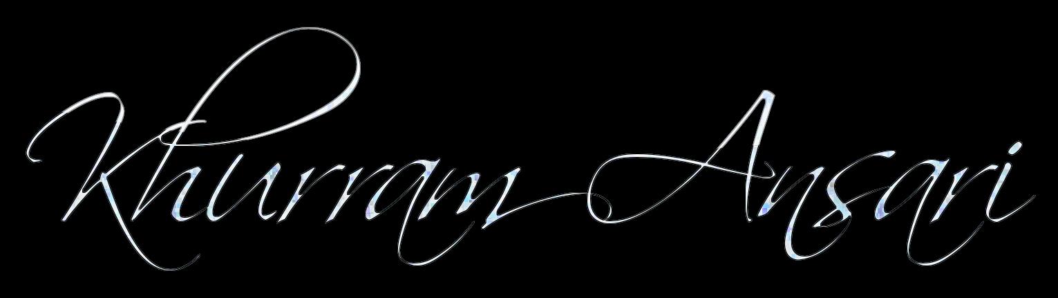 Khurram Ansari's Signature